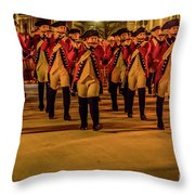 Fife And Drum Illumination 3782 Throw Pillow