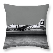 Fifi B-29 Throw Pillow