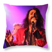 Fifth Annual David Bowie Birthday Bash Throw Pillow