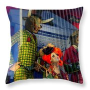 Fifth Ave Fantasy Throw Pillow