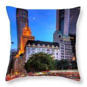 Fifth Avenue Throw Pillow