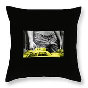 Fifth Avenue- Ny Throw Pillow