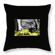 Fifth Avenue- Ny Throw Pillow