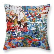 Fifth Day Of Creation 201764 Throw Pillow