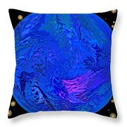 Fifth Dimension Earth Throw Pillow