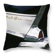 Fifty-seven Chevy Throw Pillow