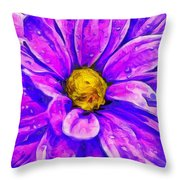 Fifty Shades Of Purple Throw Pillow