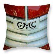 Gmc Grill Throw Pillow