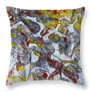 Fig Tree Afternoon Throw Pillow