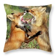 Fight Club II Throw Pillow
