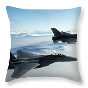 Fighter Jets Throw Pillow