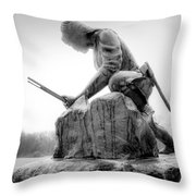 Fighter Throw Pillow