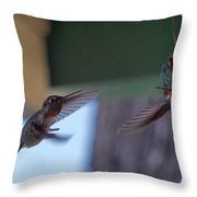 Fighter Pilots Throw Pillow