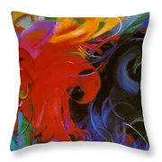Fighting Forms 1914 Throw Pillow