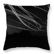 Fighting The Dark Throw Pillow