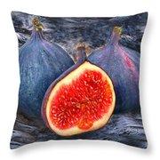 Figs 3 Throw Pillow