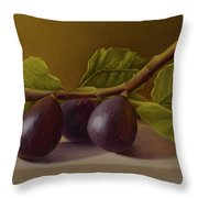 Figs From Walter's Orchard Throw Pillow