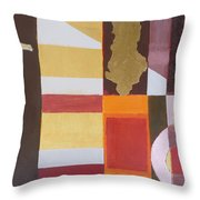 Figurativ Albanian Simbols Throw Pillow