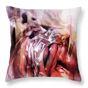 Figurative Art 004-b Throw Pillow