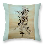 Figure And Costume Throw Pillow