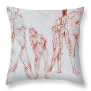Figure Five Throw Pillow