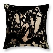 Figures Throw Pillow