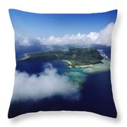 Fiji Aerial Throw Pillow
