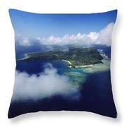 Fiji Aerial Throw Pillow