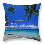 Fiji, Kadavu Island Throw Pillow