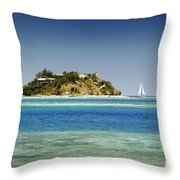 Fiji, Wadigi Isle Throw Pillow