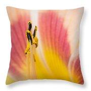 Filament Flower Throw Pillow