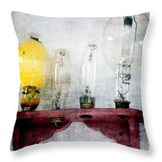'filamentary My Dear Watson' Throw Pillow