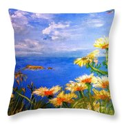 Filfla Fortitude Throw Pillow