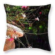 Filigree-iii Throw Pillow