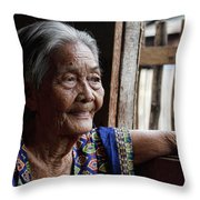 Filipino Lola - Image Number Fourteen  Throw Pillow