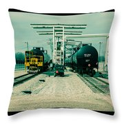 Fill-er Up Throw Pillow