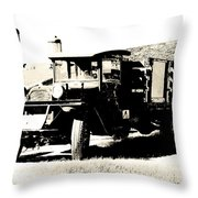 Fill Her Up Throw Pillow