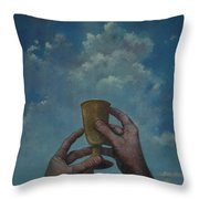 Fill My Cup Lord Throw Pillow