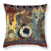 Fill To Line Throw Pillow