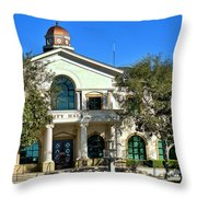 Fillmore City Hall Throw Pillow