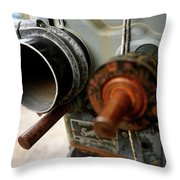 Film Camera From The Past Throw Pillow