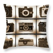Film Camera Proofs 1 Throw Pillow