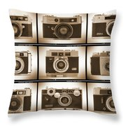 Film Camera Proofs 2 Throw Pillow