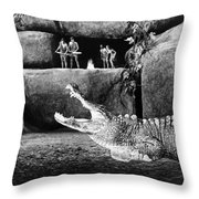 Film: Dr. Cyclops, 1940 Throw Pillow