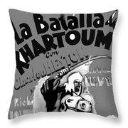 Film Homage Khartoum 1966 Cinema Felix Number 1 Us Mexico Border Town Nogales Sonora 1967-2008 Throw Pillow