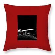 Film Noir Homage Robert Mitchum Blood On The Moon 1948 Rising Moon 2 Casa Grande Arizona 2005-2008 Throw Pillow