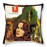 Film Noir Poster  The Third Man Throw Pillow