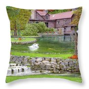 Fin N Feather At Seven Springs Throw Pillow