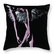 Final Adjustments Throw Pillow by Richard Young