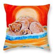 Final Days Throw Pillow